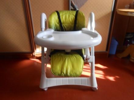 Продам стульчик для кормления б/у. Недорого. Дарницкий район. Киев. Киев. фото 1