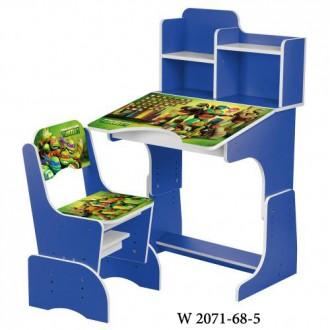 Детская парта W2071 столик с стульчик ом для детей. Хмельницкий. фото 1