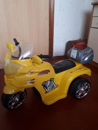 Детский электромотоцикл. Харьков. фото 1