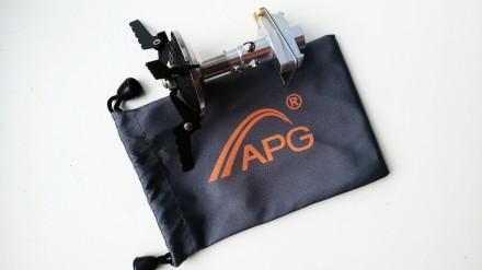 Газовая плита горелка туристическая печь фирмы APG. Александрия. фото 1