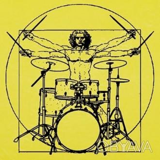Даю уроки игры на барабанах. Возраст от 7 лет. Уровень подготовки - любой. Выезж. Южноукраинск, Николаевская область. фото 1