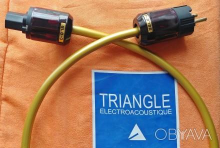 Cиловой кабель питания Cardas (сетевой), с IEC коннектами для Hi Fi аудио аппара. Киев, Киевская область. фото 1