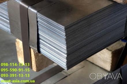 Лист оцинкованный металлический толщиной 0.9 мм. Гладкий плотный металл покрыты. Киев, Киевская область. фото 1