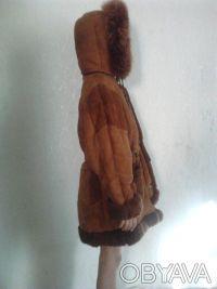Продам дубленку на девочку 9-12лет. ширина по плечам 39см, длина 70см.. Кривой Рог, Днепропетровская область. фото 3