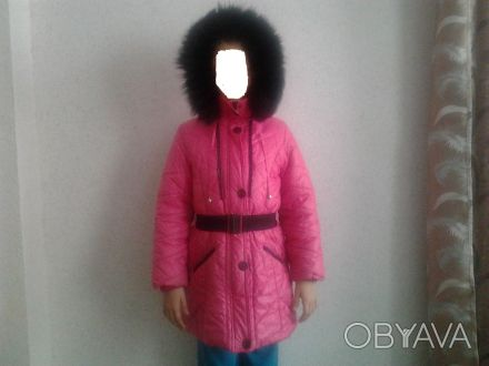 Продам пуховик для девочки 8-10лет, б/у. Общая длина 72см, длина рукава 51см, дл. Кривий Ріг, Дніпропетровська область. фото 1