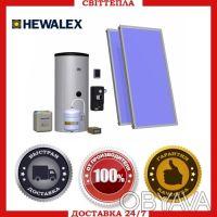 Солнечный комплект Hewalex 2KS2100-TAC-200. Киев. фото 1