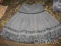 Продам шикарный шерстяной костюм для девочки, р.128, цена 260 грн. Мелитополь, Запорожская область. фото 3
