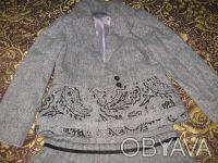 Продам шикарный шерстяной костюм для девочки, р.128, цена 260 грн. Мелитополь, Запорожская область. фото 4