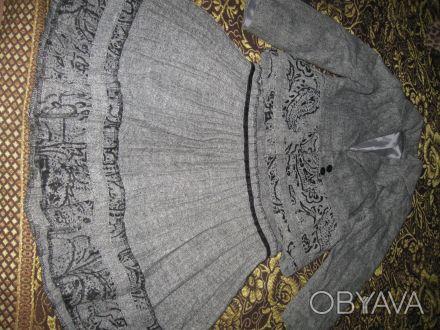 Продам шикарный шерстяной костюм для девочки, р.128, цена 260 грн. Мелитополь, Запорожская область. фото 1