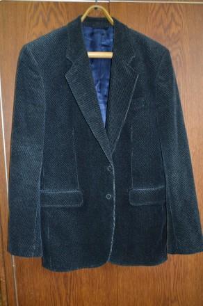 Пиджак 48-50 вельвет ЧССР. Сумы. фото 1