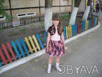 """шикарное, выпускное детское платье """"пачка"""" на 6 лет,корсетное,ткань классная, по. Кривой Рог, Днепропетровская область. фото 3"""