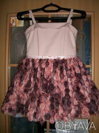 """шикарное, выпускное детское платье """"пачка"""" на 6 лет,корсетное,ткань классная, по. Кривой Рог, Днепропетровская область. фото 5"""