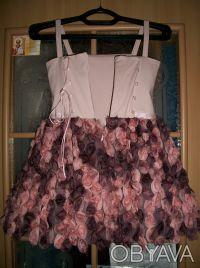 """шикарное, выпускное детское платье """"пачка"""" на 6 лет,корсетное,ткань классная, по. Кривой Рог, Днепропетровская область. фото 6"""