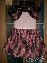 """шикарное, выпускное детское платье """"пачка"""" на 6 лет,корсетное,ткань классная, по. Кривой Рог, Днепропетровская область. фото 9"""