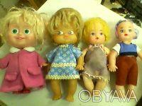 Куклы резиновые и пластмассовые от10 до 20 грн. Высота от 7 - 16 см. Одесса, Одесская область. фото 2