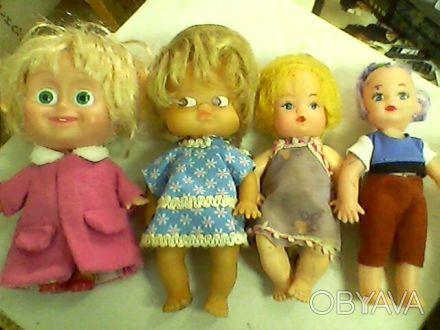 Куклы резиновые и пластмассовые от10 до 20 грн. Высота от 7 - 16 см. Одесса, Одесская область. фото 1
