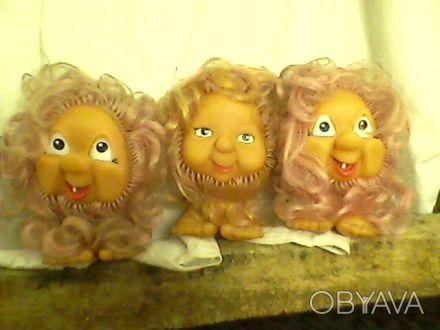 Куклы 10 - 25 грн. мягкие, резиновые, пластмассовые.. Одеса, Одеська область. фото 1