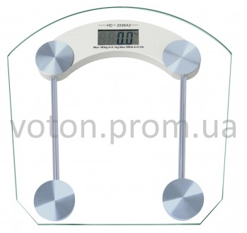 Весы напольные стеклянные до 180 кг. Купянск. фото 1