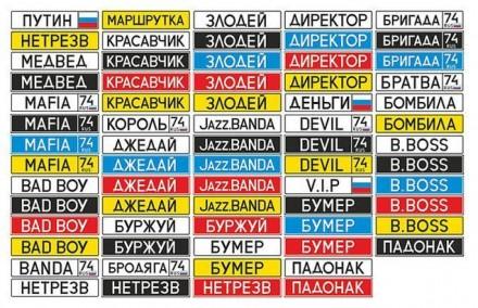 СУВЕНИРНЫЕ НОМЕРА ЗА 1 ЧАС В КИЕВЕ НА ОБОЛОНИ. Киев. фото 1