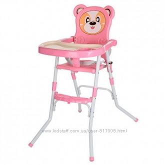 Мишка 113 стульчик для кормления 2в1 детский стул. Хмельницкий. фото 1