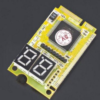 POST CARD для діагностики ноутбука ( mini PCI, mini PCI-E, LPC) Призначена для . Львов, Львовская область. фото 3