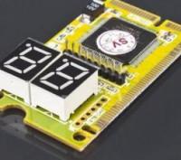 POST CARD для діагностики ноутбука ( mini PCI, mini PCI-E, LPC) Призначена для . Львов, Львовская область. фото 2