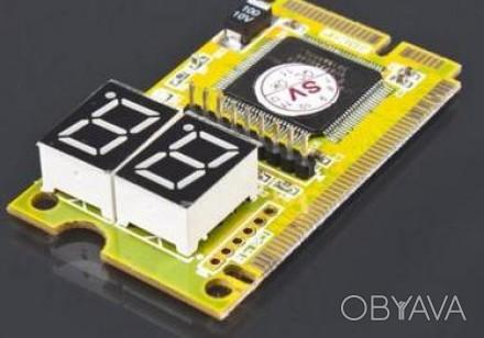 POST CARD для діагностики ноутбука ( mini PCI, mini PCI-E, LPC) Призначена для . Львов, Львовская область. фото 1