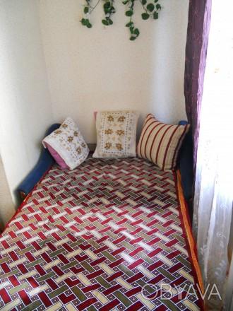Сдам посуточно однокомнатную квартиру для одного или двух человек без вредных пр. Черноморск (Ильичевск), Одесская область. фото 1