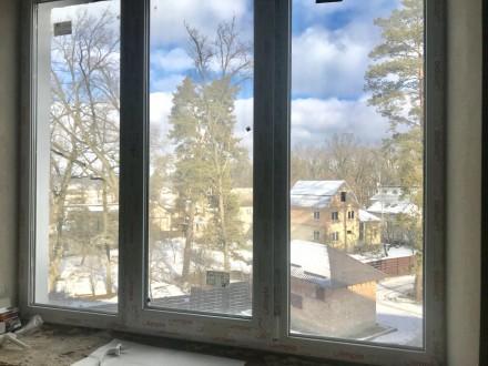Шикарная квартира с видом на лес.  Дом построен с лучших материалов, максимальн. Green Yard ЖК, Ирпень, Киевская область. фото 3