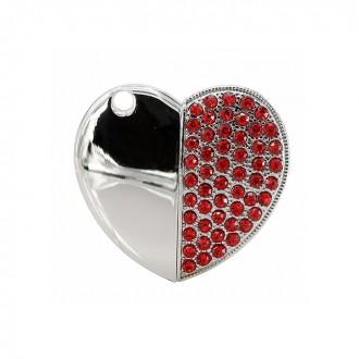 USB флешка Techkey сердце красное 16GB. Киево-Святошинский. фото 1