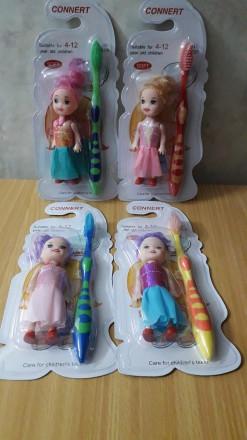 Детская зубная щетка для девочек. Одесса. фото 1