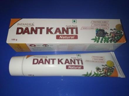 Аюрведическая Зубная паста на травах Дант Канти Dant Kanti Patanjali. Киев. фото 1