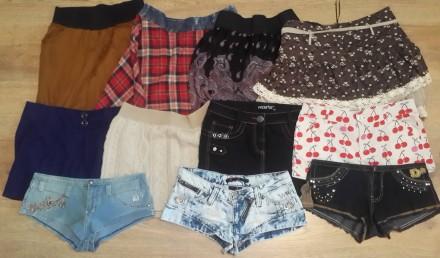 Молодежные юбки, юбки - шорты. Дешево!!!. Одесса. фото 1