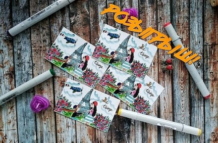 Валентинки, авторские открытки, открытки на заказ. Днепр. фото 1