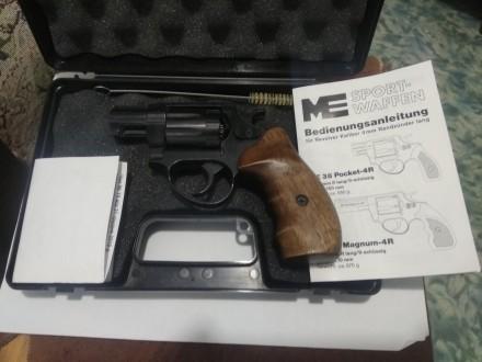 Состояние отличное ,пистолету месяц,есть гарантия.Немецкие револьверы Cuno Melch. Запорожье, Запорожская область. фото 3