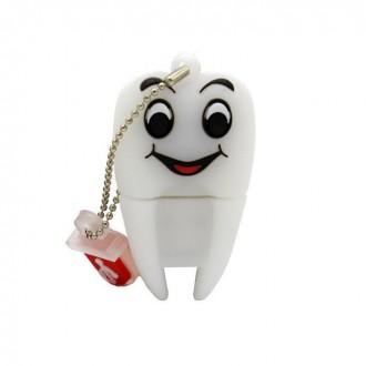 USB флешка Shandian Зуб улыбающийся, 16GB. Киево-Святошинский. фото 1