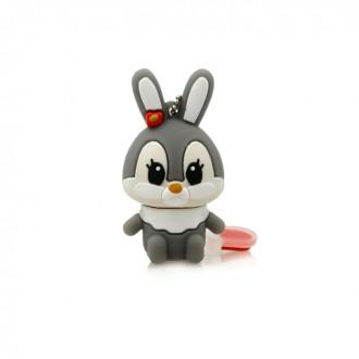 USB флешка Shandian Кролик серый, 16GB. Киево-Святошинский. фото 1