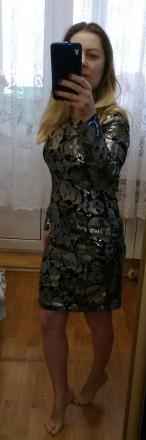 Плаття пайєтки Zara. Киев. фото 1