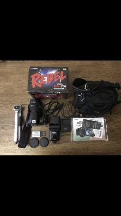 Canon EOS 700D kit (18-135mm) EF-S STM (T5i) кенон. Тернополь. фото 1