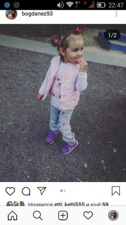 Кроссовки на девочку. Херсон. фото 1