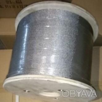 Нержавеющий трос 3 мм:  Производитель: WASI (Германия)  Усилие на разрыв: 61. Запорожье, Запорожская область. фото 1