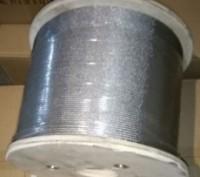 Трос нержавеющий WASI (Германия), диаметр 4 мм. Запорожье. фото 1