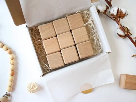 Деревянные кубики из благородного дерева - бук. Чернигов. фото 1