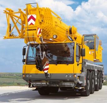 Аренда автокрана LTM 1090 90 т. Киев. фото 1