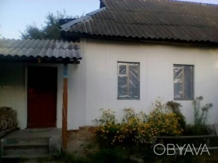 Продам дом с участком, в селе Красное, 25 км от Чернигова по трассе Киев-Черниго. Чернигов, Черниговская область. фото 1