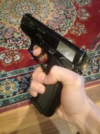 Продам пистолет под патрон флобера ПТФ-1 в отличном состоянии. Отстреляно около . Запорожье, Запорожская область. фото 5