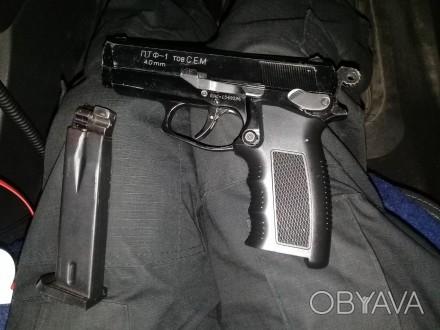 Продам пистолет под патрон флобера ПТФ-1 в отличном состоянии. Отстреляно около . Запорожье, Запорожская область. фото 1