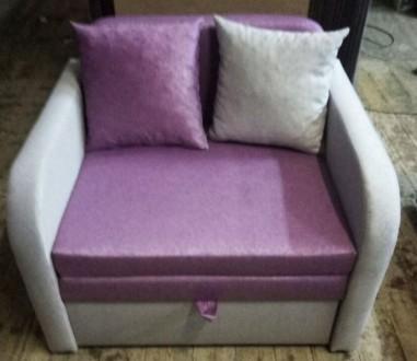 Детский диван, диван кресло Юниор 80 однотон. Киев. фото 1