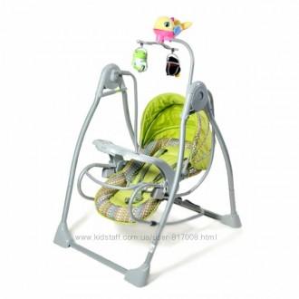 Качели Тилли bt-sc-003детская музыкальная колыбельная кресло качалка шезлонг. Хмельницкий. фото 1