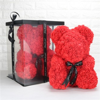 Мишка из роз/ведмедик з троянд/оригинал. Самбор. фото 1